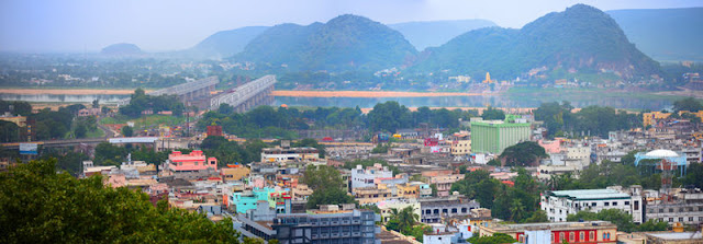 Vijayawada city view