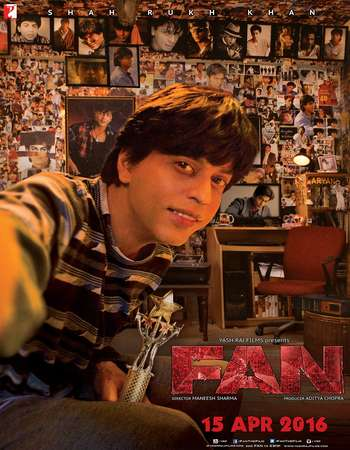 Download Fan 2016 Hindi 720p DVDScr x264
