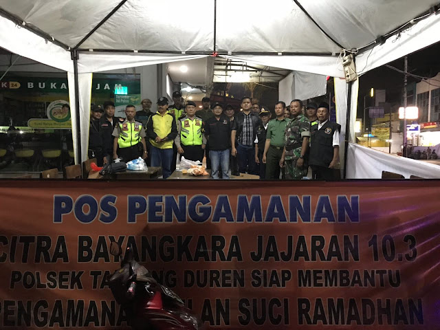 Menjamin Rasa Aman Polsek Tanjung Duren Operasi Cipkon Skala Sedang