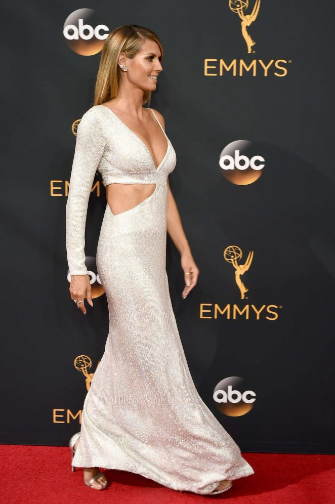 Heidi Klum – 2016 Emmy Awards in Los Angeles