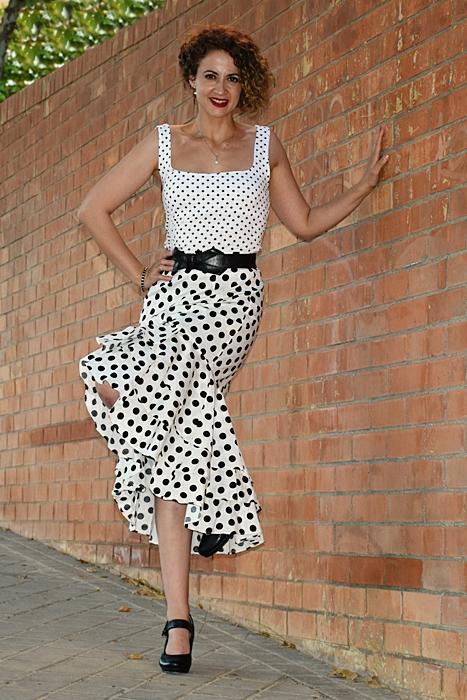 Outfit-Falda-Lunares-blanca-6