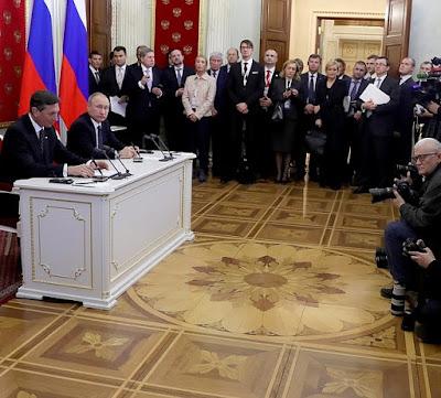 Vladimir Putin, Borut Pahor.
