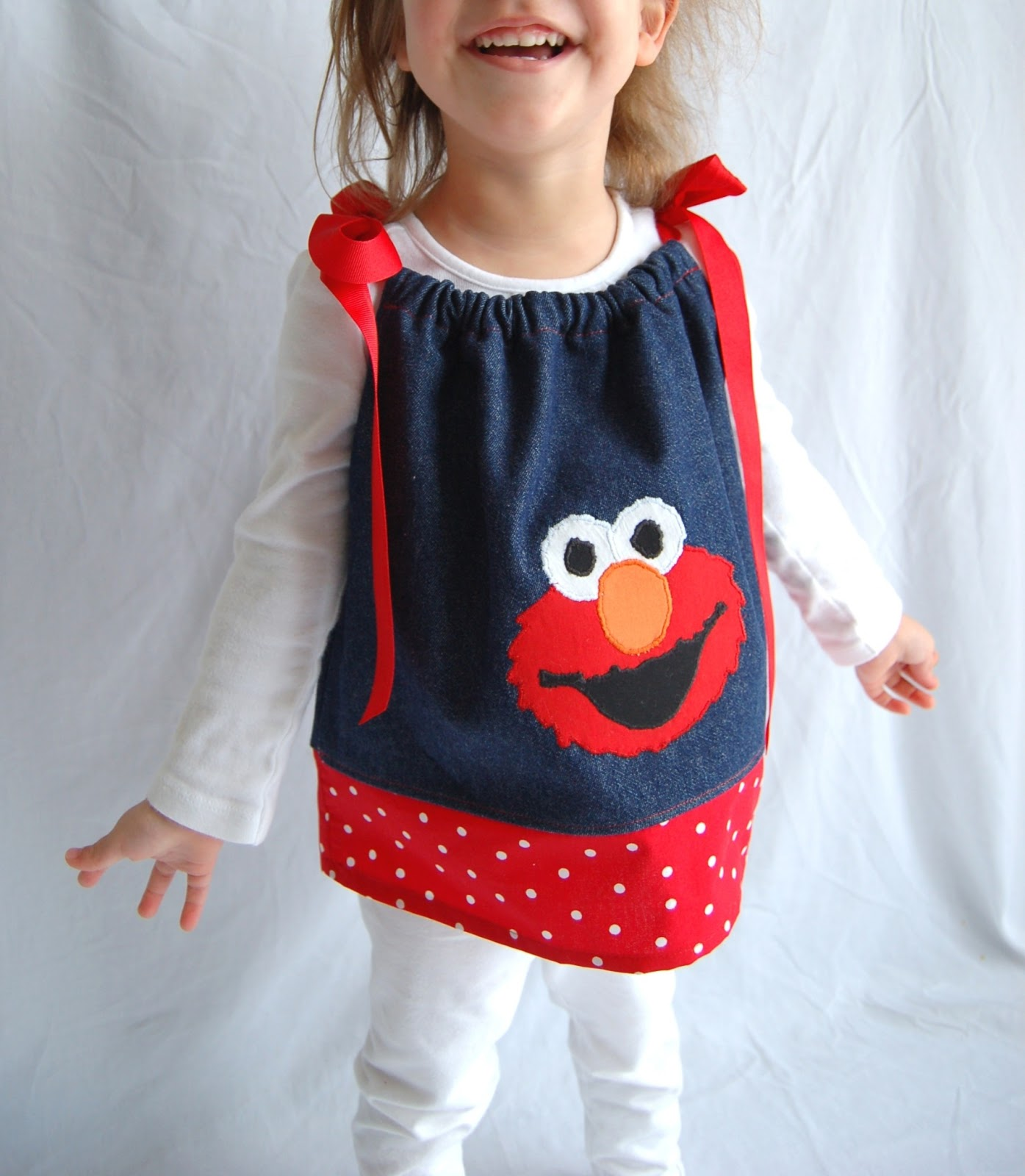 Her Sweet Little Girls Were Celebrating Their 2nd Birthday Elmo Style And She Wanted Some Fun Tops For Them To Wear The Party