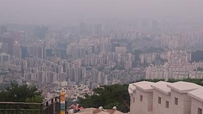 View of Seoul from Inwangsan
