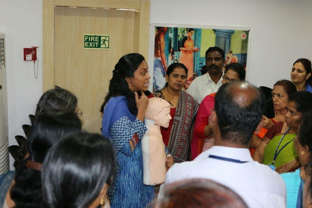 On Account of Children's Day, Manipal Hospitals conducted workshop for Teachers to handle emergencies in school