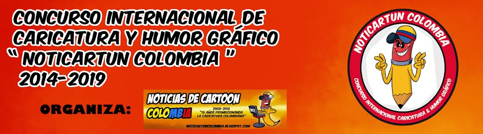 5 International competition of caricature and graphic humor - NOTICARTUN COLOMBIA - 2019