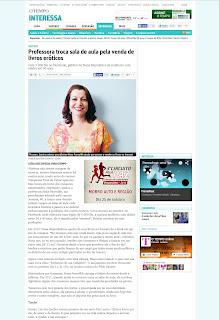 Entrevista de Janaina Bragança Bittencourt para o Jornal O Dia