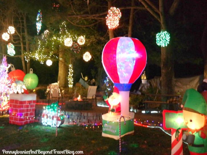 Christmas Lights In Pa.Pennsylvania Beyond Travel Blog Holiday Fun At Thrush S