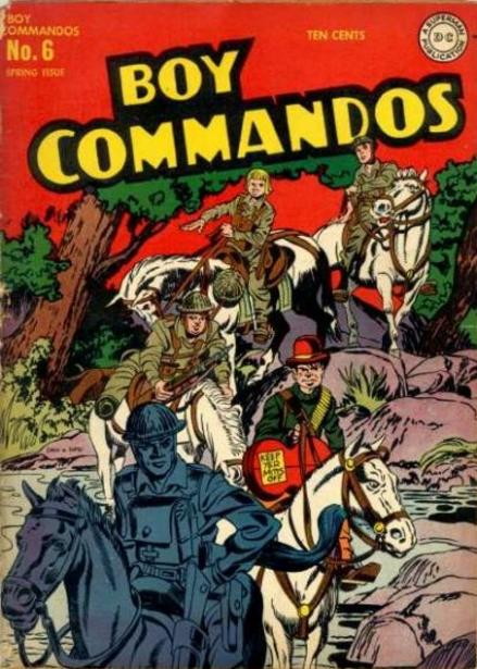 Boy Commandos Jack Kirby