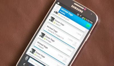 Cara Mengirim Lokasi Kita Melalui BBM di Android