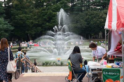 The Setagaya Bread Festival 2017 happening at Setagaya Park, Tokyo.