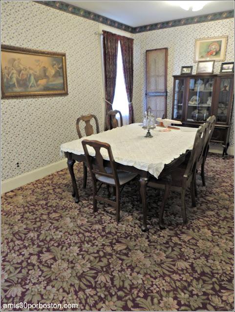 Lizzie Borden Bed & Breakfast Museum: Comedor