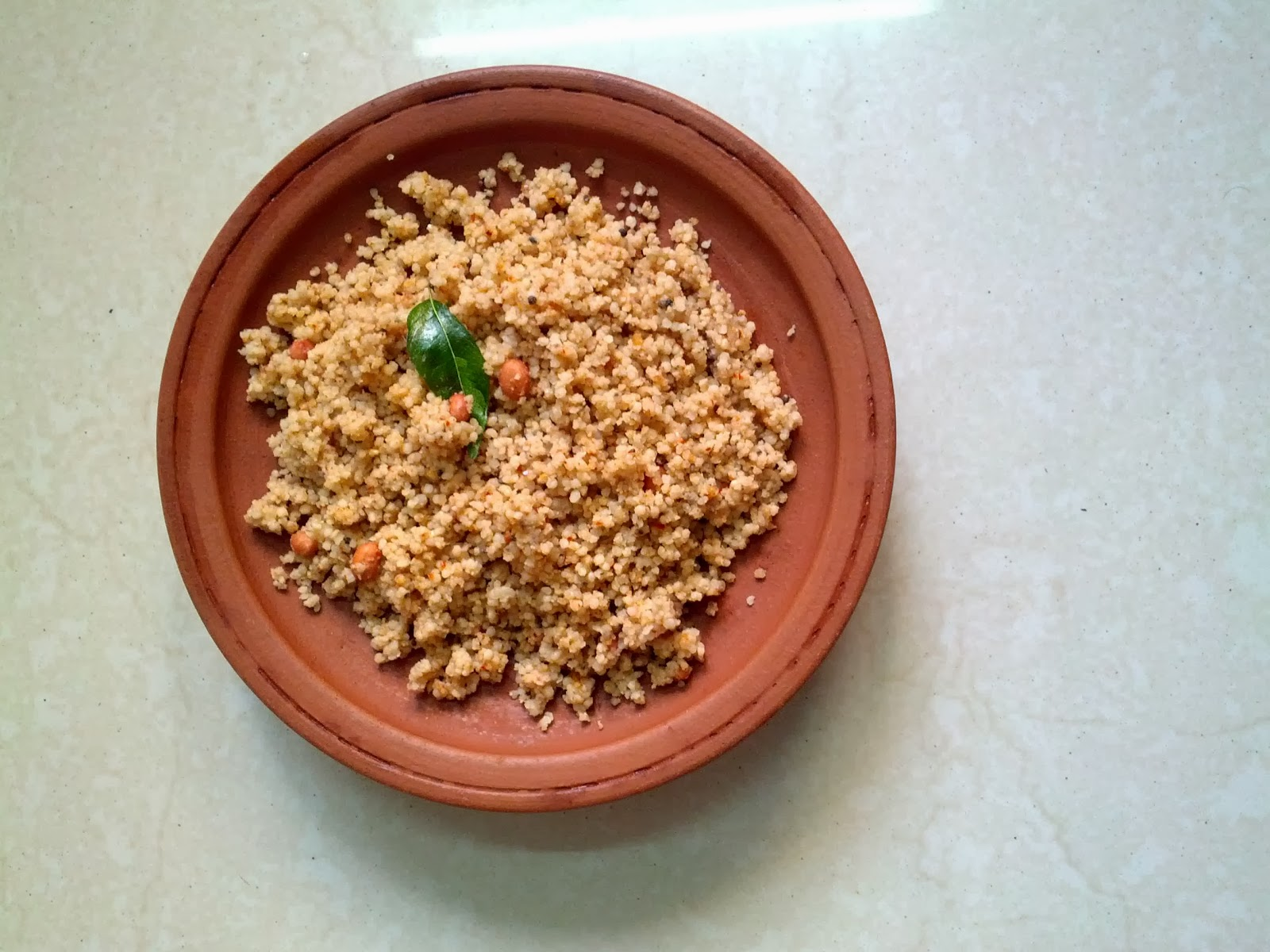 Kodo millet Groundnut or Peanut rice