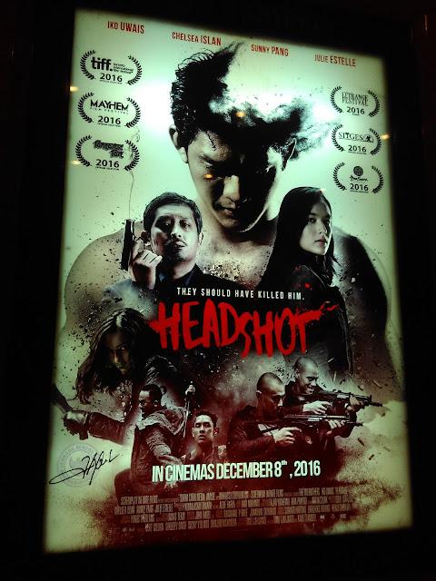 Lifestyle Blogger Medan - Siapa Bilang Film HEADSHOT Tidak Bagus?