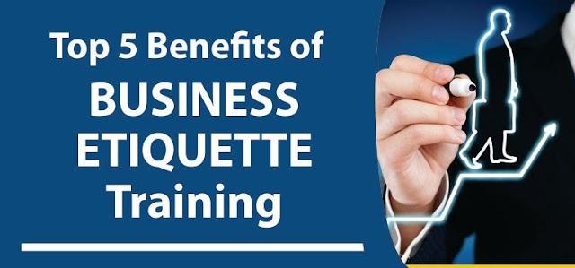 5 Benefits of Business Etiquette Training
