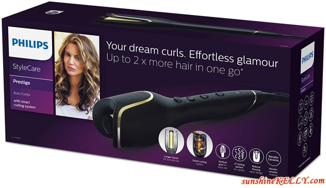 Effortless and Bouncy Curls Any Time with the New Philips StyleCare Prestige Auto Curler