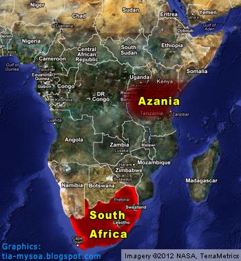 Azania vs South Africa