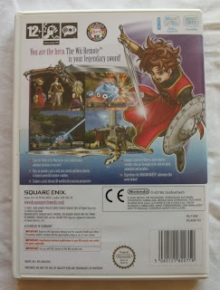 Dragon Quest Swords - The Masked Queen and the Tower of Mirrors - Caja detrás