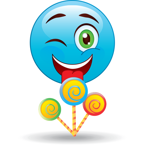 Lollipops smiley