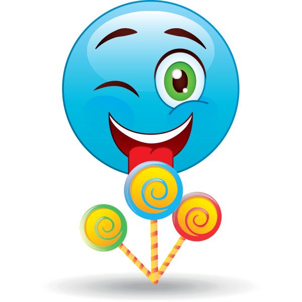 Lollipops smiley