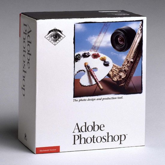 Photoshop package 1990