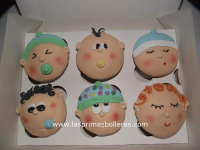 cupcakes caritas bebe