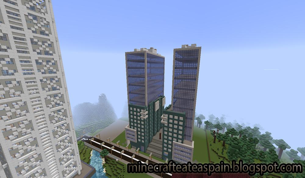 Minecrafteate r plica minecraft de isozaki ateai - Casas de lujo en bilbao ...