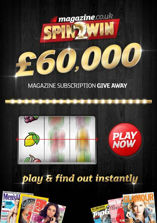Spin 2 Win with Magazines.co.uk