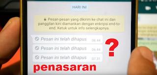 Ternyata Inilah Cara Membaca Pesan WhatsApp Yang Sudah Dihapus Ternyata Inilah Cara Membaca Pesan WhatsApp Yang Sudah Dihapus