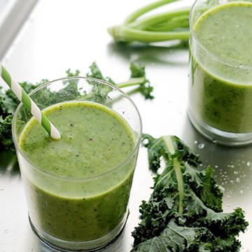 delicious green summer smoothie recipe