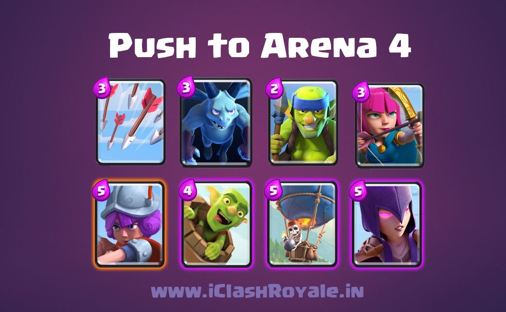 Clash_Roayle_Best_Deck_to_Reach_Arena_4, The_Balloon_Deck