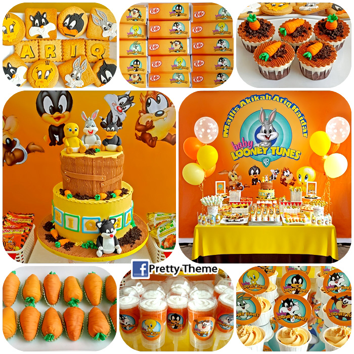 Baby Looney Tunes Cake Decorations