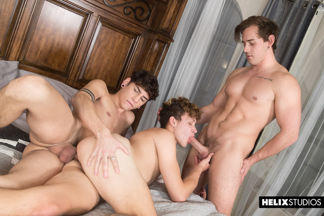 The Best in Twink and Jock Sex at Helix Studios- click