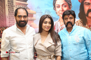 Shriya Saran Nandamuri Balakrishna at Gautamiputra Satakarni Team Press Meet Stills  0222.JPG