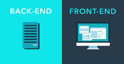 Perbedaan Back-end dan Front-end Developer
