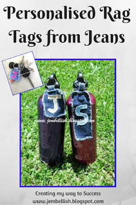 Personalised Rag Tags from Jeans