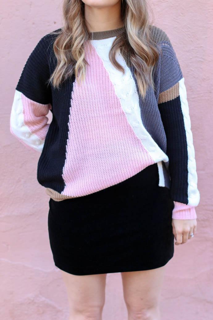 how to style a velvet mini skirt