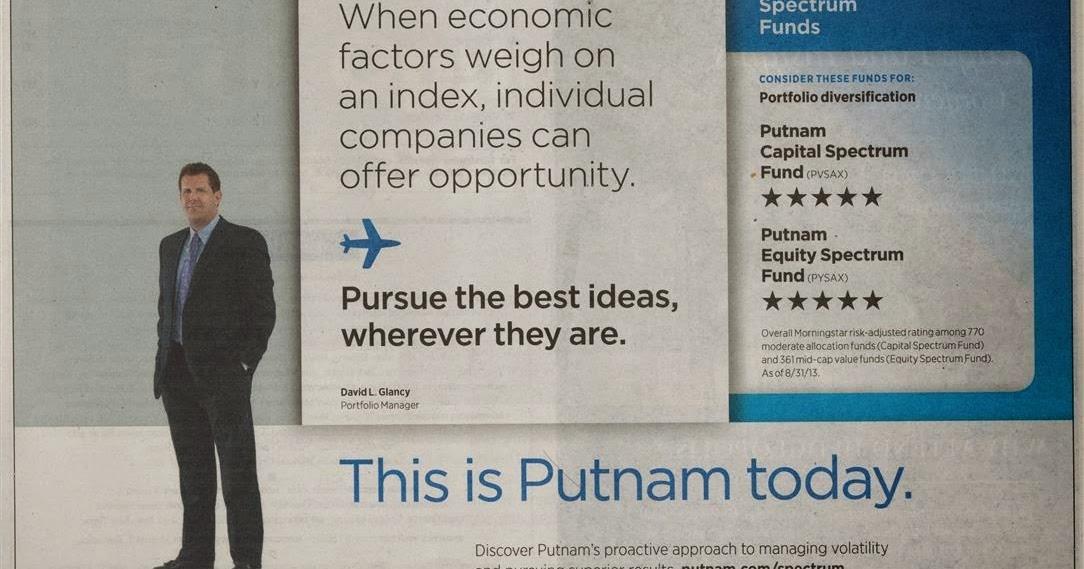 Putnam Spectrum Mutual Funds Investment Ad Mepb Financial