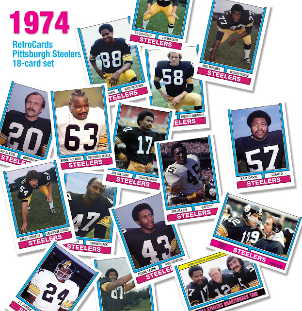 1974 Topps football cards, Super Bowl IX