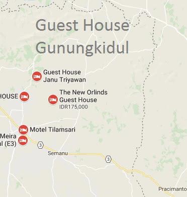 guest house daerah gunungkidul