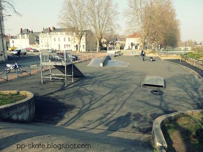 Skate park Chatellerault