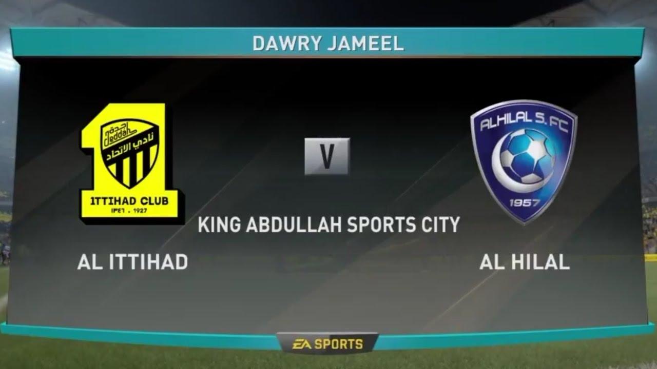 مشاهدة مباراة الهلال والاتحاد بث مباشر بتاريخ 21-02-2019 الدوري السعودي