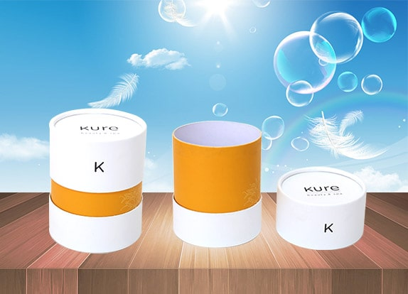 Round Paper Gift Boxes for Cosmetics Packaging
