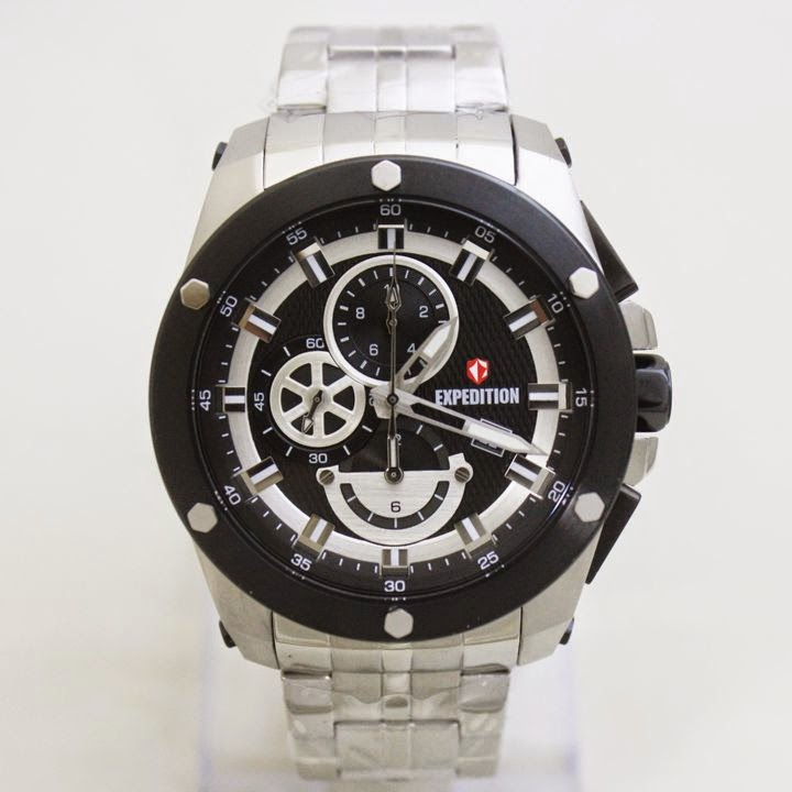 EXPEDITION E6643M Silver white 47mm 5 Atm