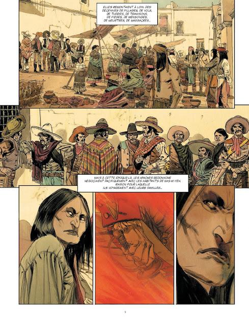 Geronimo de Matz et Jef chez les editions Rue de Sèvres page 9
