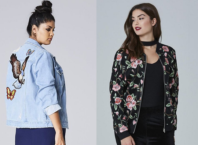 SPRING TREND EMBROIDERY PLUS SIZE