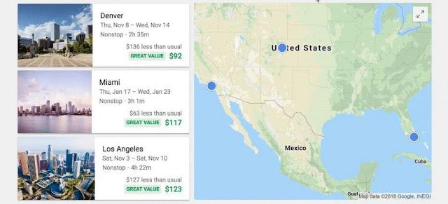Travel Trends: il nuovo servizio made in Google per viaggiare low cost