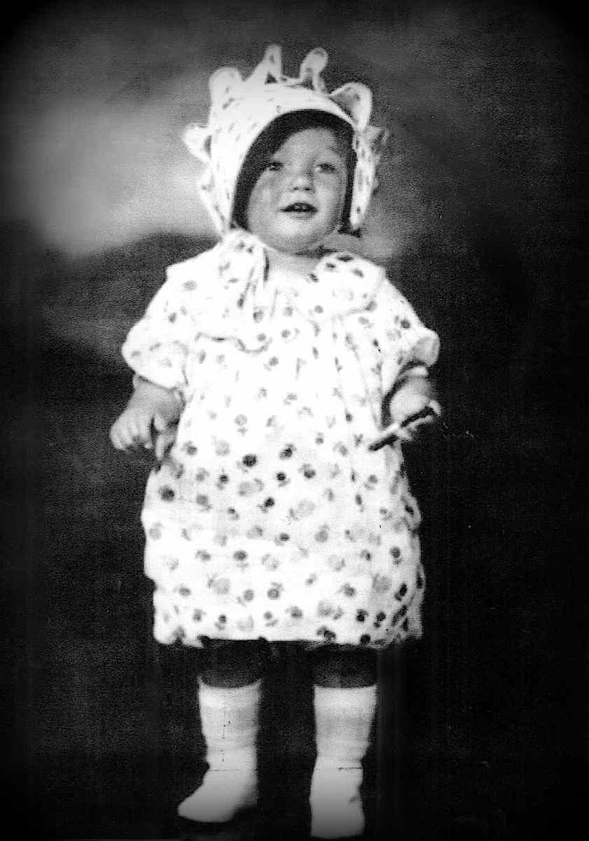 Marilyn Monroe's baby photograph