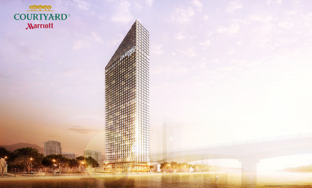 Phối cảnh dự án Marriott Court Yart Đà Nẵng