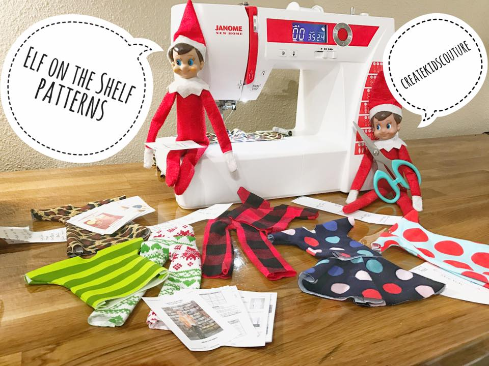 Create Kids Couture 40st Day Of Christmas Elf Clothing Gorgeous Elf Pattern